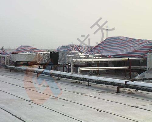 屋顶渗漏修缮